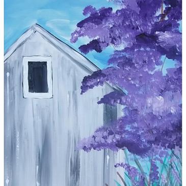 Purple Farm House