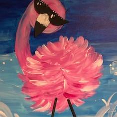 Beth's Flamingo