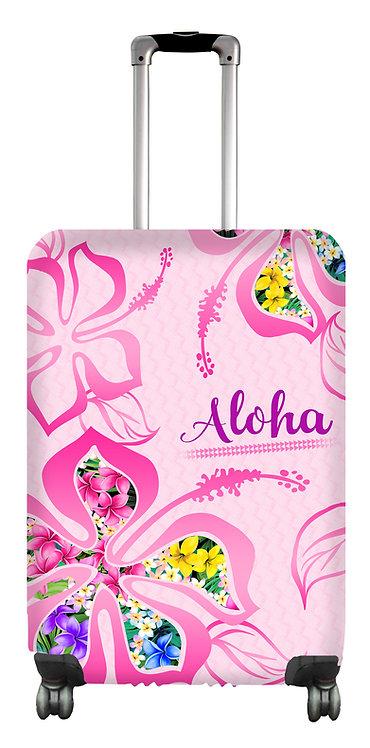 Hibiscus Hard Case Luggage