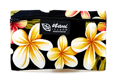 Cute Plumeria Glasses Case