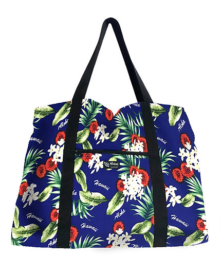 Endangered Lehua Shopping Bag w/Zipper