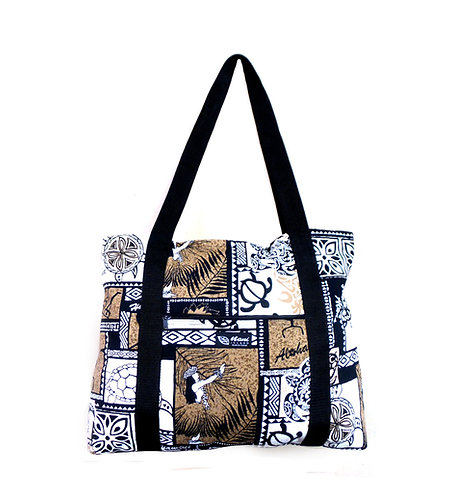 Honu Box Shopping Bag w/Zipper