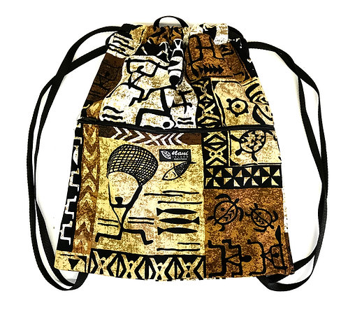 Stickman Drawstring Back Pack
