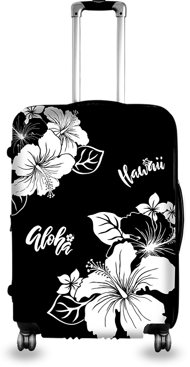 Hibicus Flower Hard Case Luggage