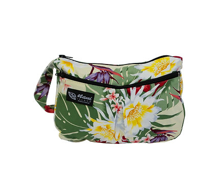 Night Blooming Bouquet Two Pocket Handbag