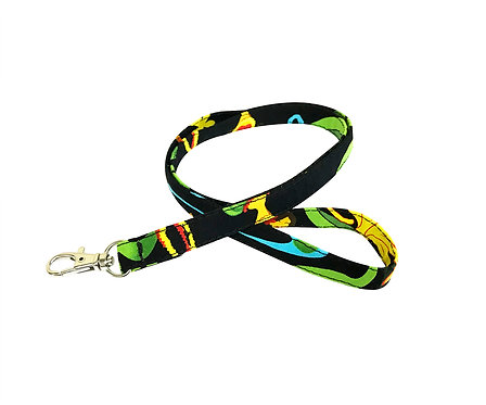Hawaiian Hula Girl Lanyard