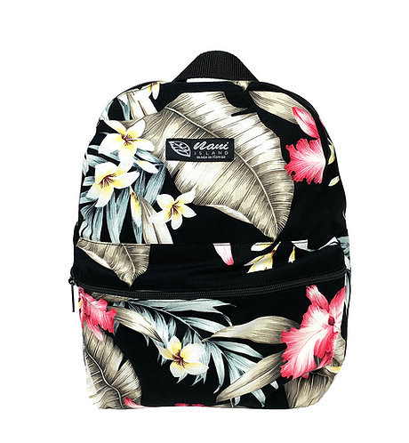 Orchid Garden Back Pack w/Zipper