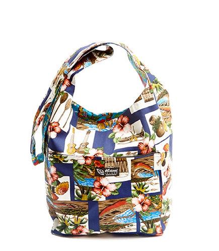 Hawaiian Dance Reversible Sling Bag