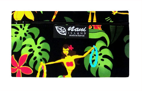 Hawaiian Hula Girl Glasses Case