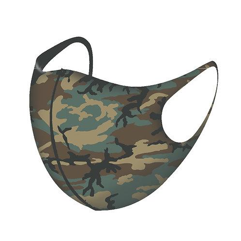 Camouflage 3D Aerosilver Mask