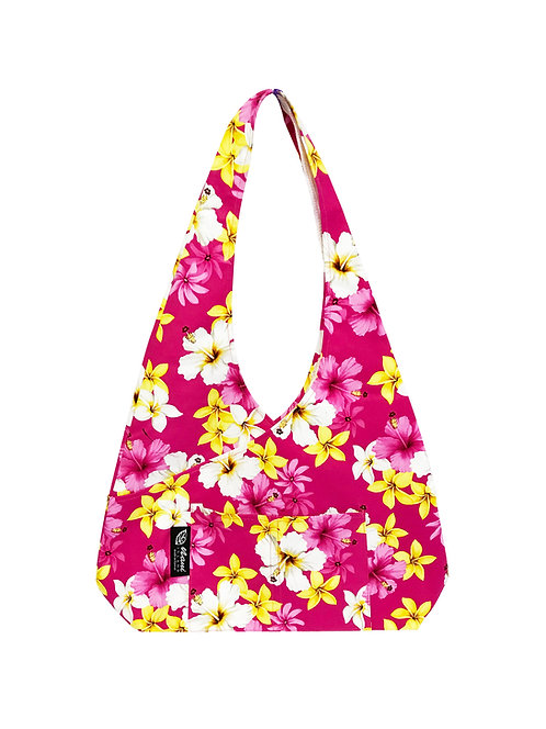 Dream of Flower Cross Hobo Bag L