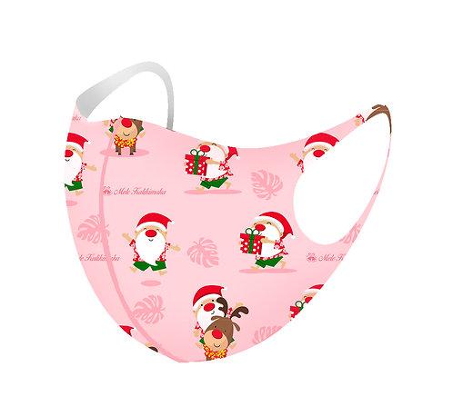 Rudolph & Santa 3D Aerosilver Mask