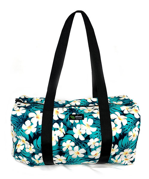 Modern Plumeria Duffle Bag