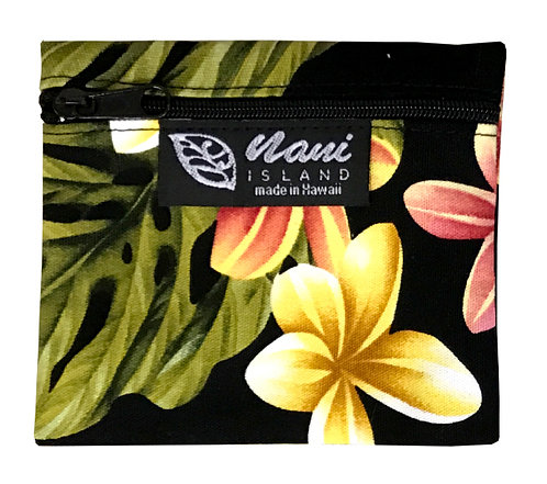 Cute Plumeria Coin Purse