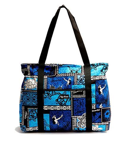 Honu Box Shopping Bag w/Zipper