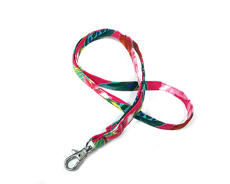 Tropical Blossom Lanyard