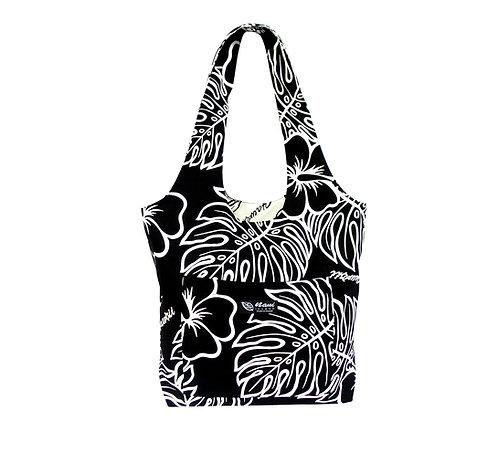Monstera Lover Reversible Hobo Bag S