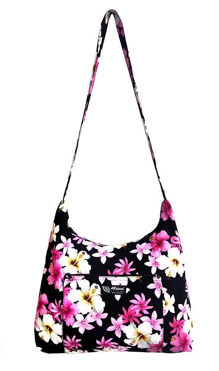 Dream of Flower Sling Bag w/Zipper