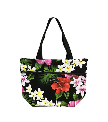 Luxury Hibiscus Reversible Tote S