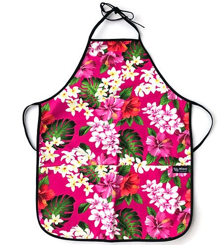Luxury Hibiscus Adult Reversible Apron