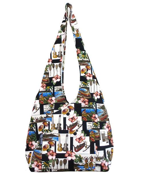 Hawaiian Dance Cross Sling Bag