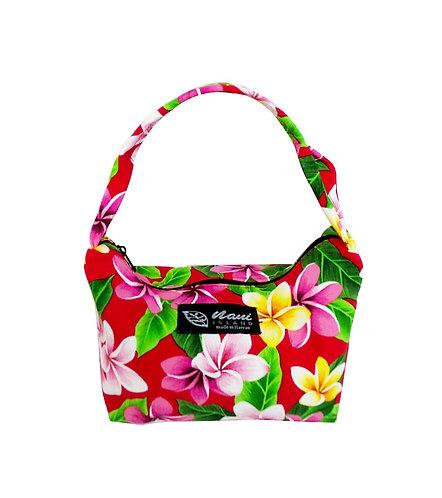 Tropical Plumeria Pouch Hand Bag