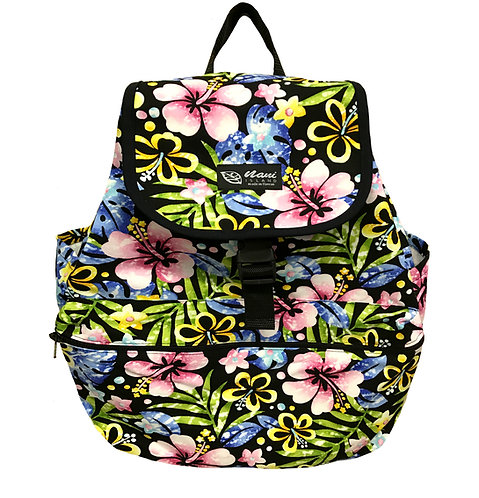Groovy Hibiscus Back Pack