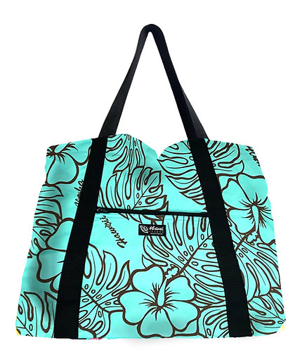 Monstera Lover Shopping Bag w/Zipper