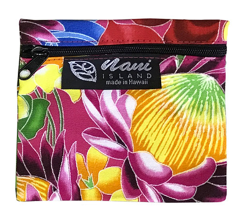 Hawaiian Garden Coin Purse