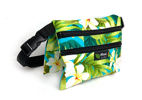 Spring Blossoms 3 Zipper Waist Bag L