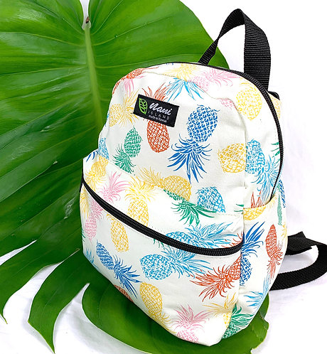 Pineapple Party Back Pack w/Zipper