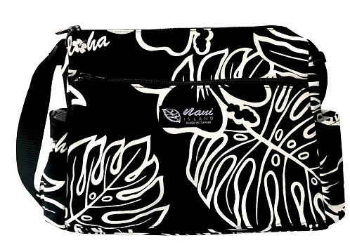 Monstera Lover 2 Side Pocket Handbag