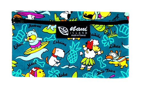 Doggie in Paradise Glasses Case