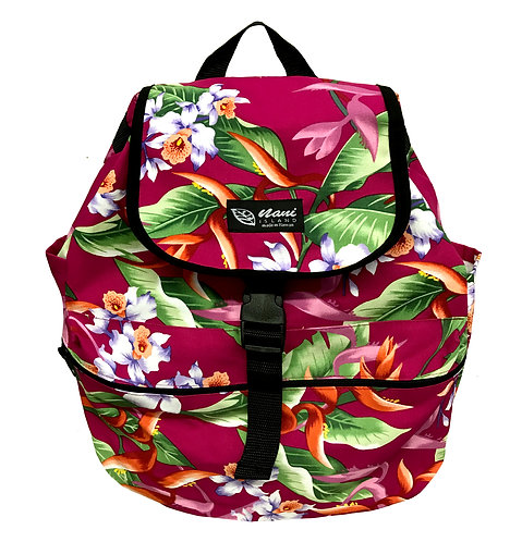Hanging Heliconia Back Pack