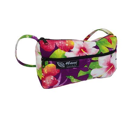 Watermark Floral Ladies Hand Bag