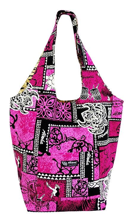 Honu Box Reversible Hobo Bag L
