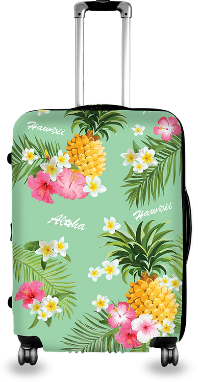 Pineapple Tropical Hard Case Luggage