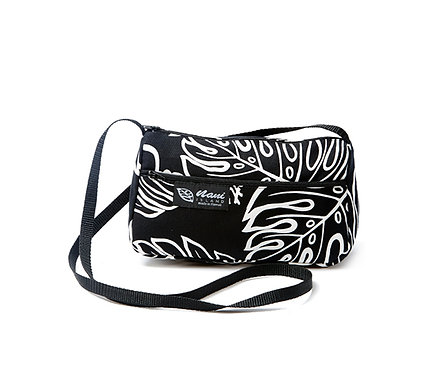 Monstera Lover Ladies Hand Bag w/Long Strap