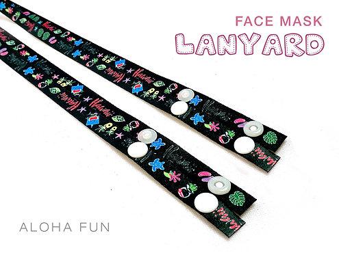 Aloha Fun Mask Lanyard
