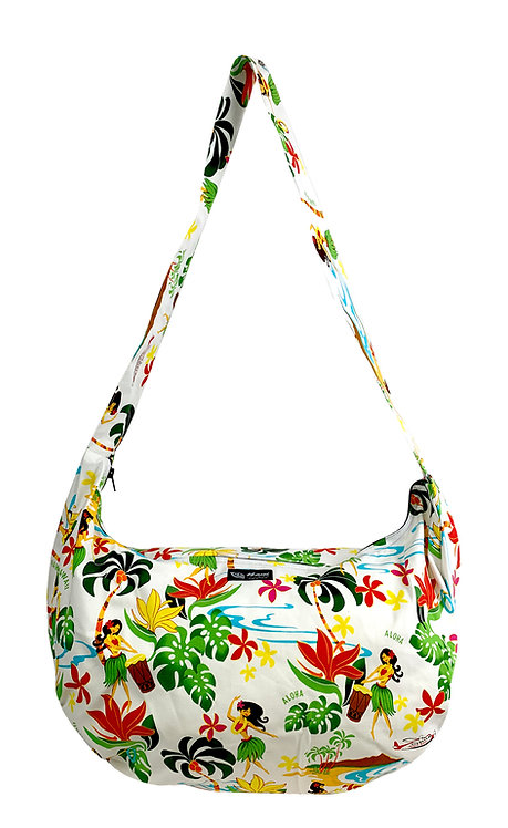 Hawaiian Hula Girl Duffle Sling Bag