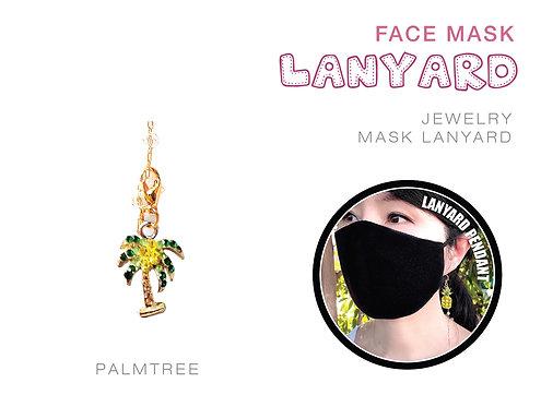 Palmtree Jewelry Mask Lanyard