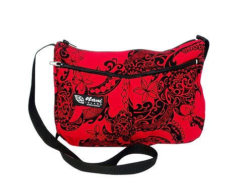 Tribal Tattoo Two PocketHand Bag w/ Long Strap