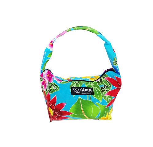 Hawaiian Garden Pouch Hand Bag