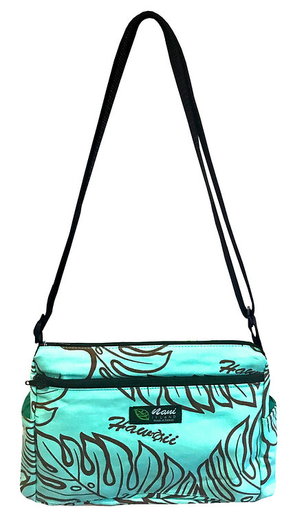Monstera Lover Ladies Hand Bag w/Adjustable Strap