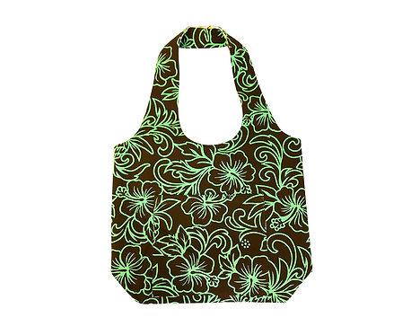 Pineapple Line Reversible Hobo Bag S