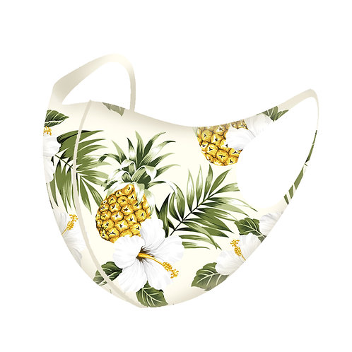 Tropical Pineapple 3D Aerosilver Mask