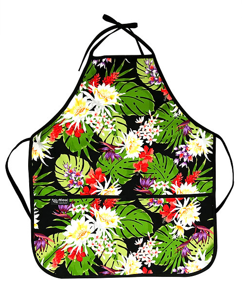 Night Blooming Bouquet Adult Apron