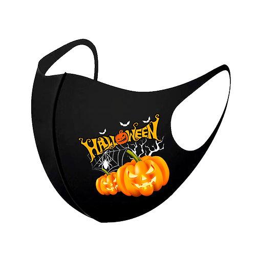 Orange Pumpkin 3D Aerosilver Mask