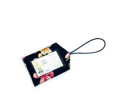 Cute Plumeria Luggage Tag