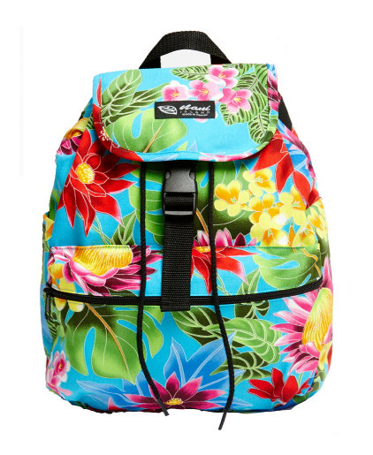 Hawaiian Garden Back Pack